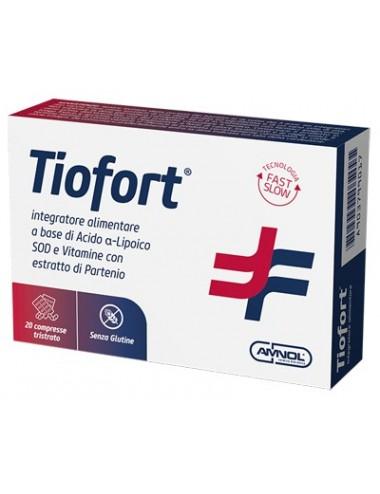 TIOFORT 20 COMPRESSE TRISTRATO
