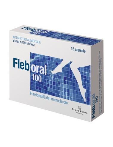 FLEBORAL 100 15 CAPSULE