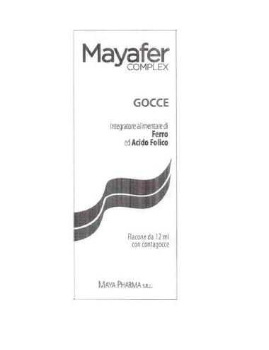 MAYAFER COMPLEX GOCCE 12 ML