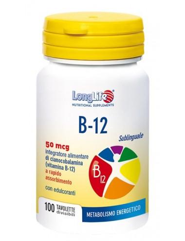 LONGLIFE B12 50MCG...