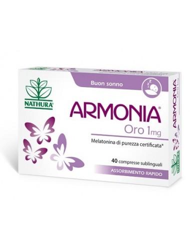 ARMONIA ORO 1 MG 40 COMPRESSE