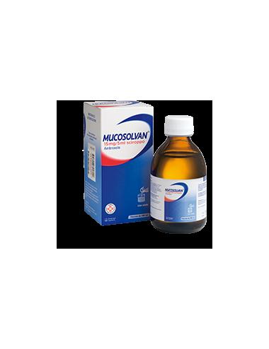 MUCOSOLVAN 15 MG/5 ML...